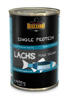 Belcando Single Protein Lachs Nassfuter 200g / 400g Dose
