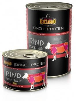 belcando single protein dosen rind