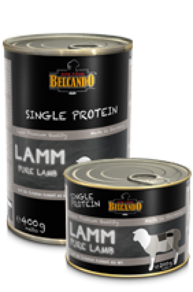 belcando single protein dosen Lamm